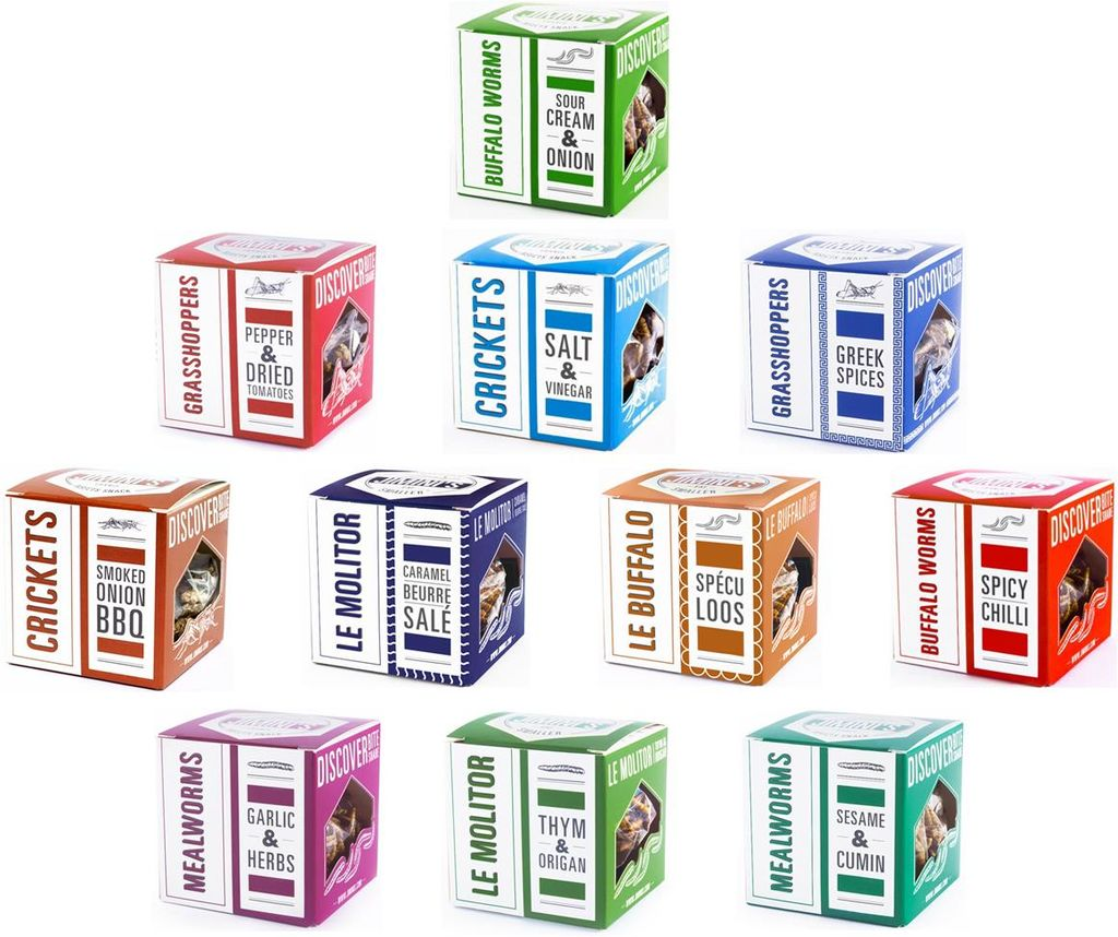 Wecome to Bǚg Bazaar — The Ultimate Insect Food Shop
