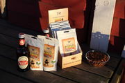 BBQ-flavored roasted crickets online (20 g)!
