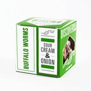 Sour Cream & Onion - Flavored Buffalo Worms (18g) - JIMINI'S